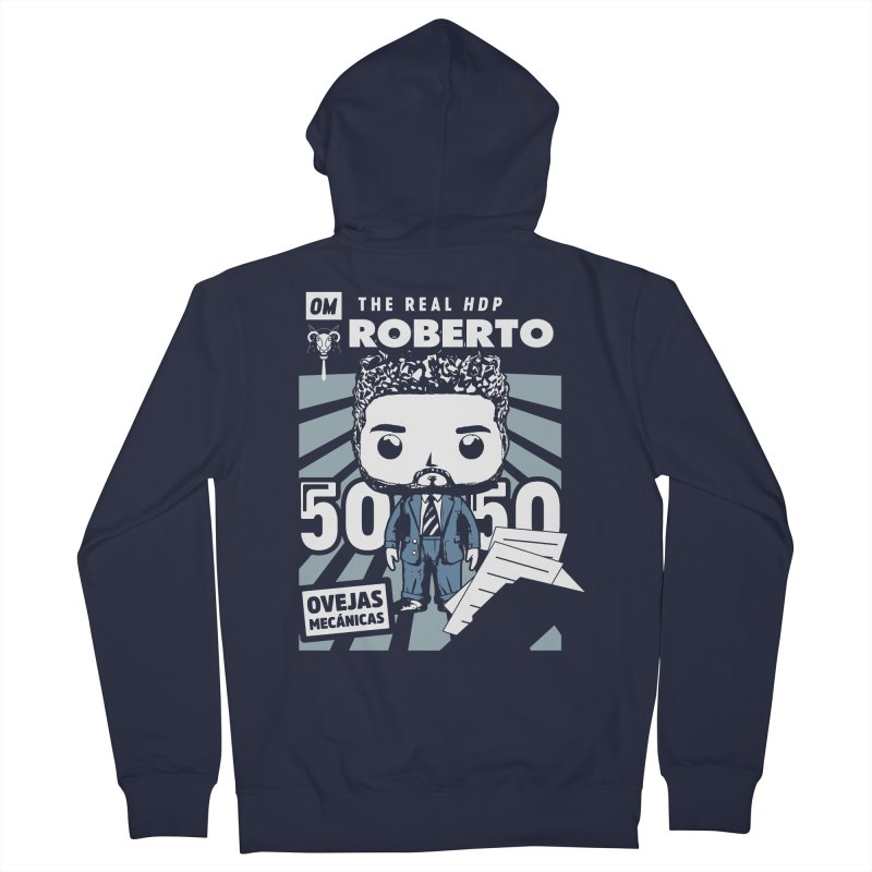 Roberto Pop! Miranda V2 Men's French Terry Zip-Up Hoody by El Esquiladero