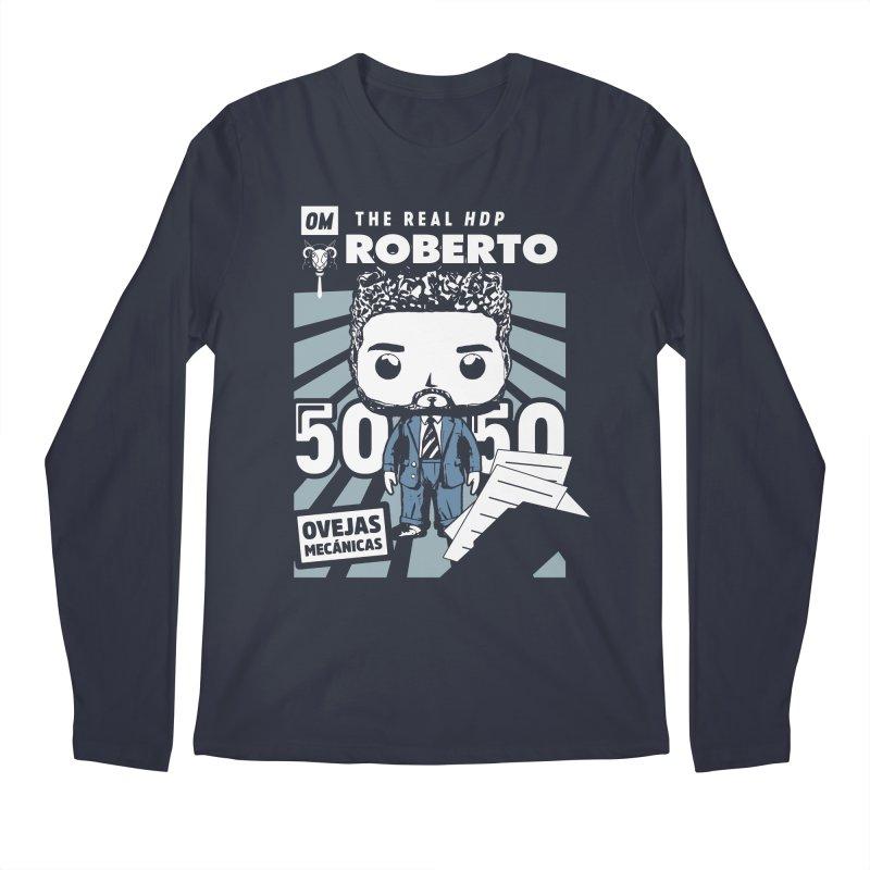 Roberto Pop! Miranda V2 Men's Regular Longsleeve T-Shirt by El Esquiladero