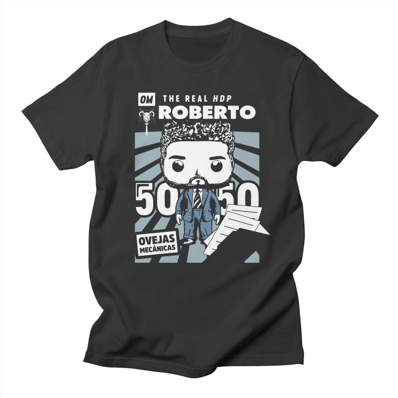 Roberto Pop! Miranda V2 Men's T-Shirt by El Esquiladero