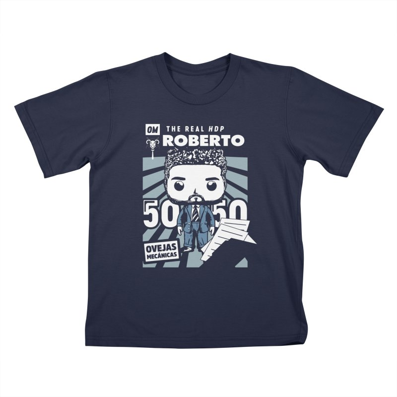 Roberto Pop! Miranda V2 Kids T-Shirt by El Esquiladero