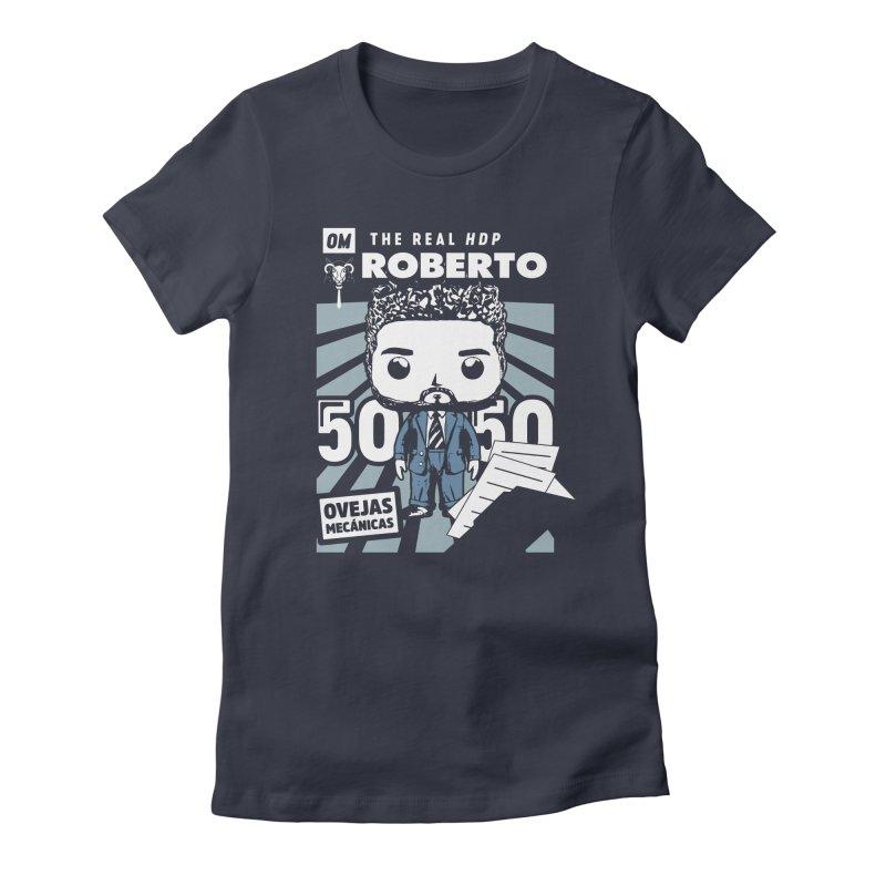 Roberto Pop! Miranda V2 Women's Fitted T-Shirt by El Esquiladero