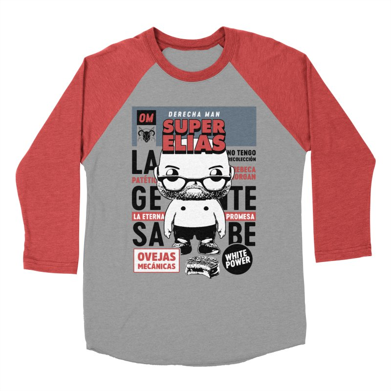Elías Pop! Giacaman Men's Longsleeve T-Shirt by El Esquiladero