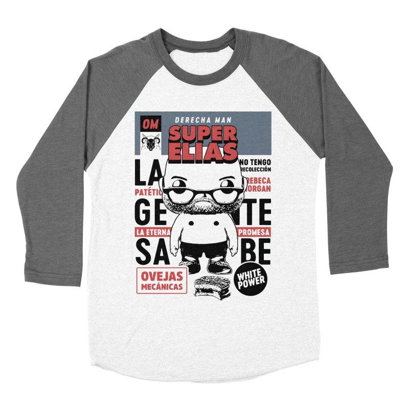 Elías Pop! Giacaman Men's Baseball Triblend Longsleeve T-Shirt by El Esquiladero