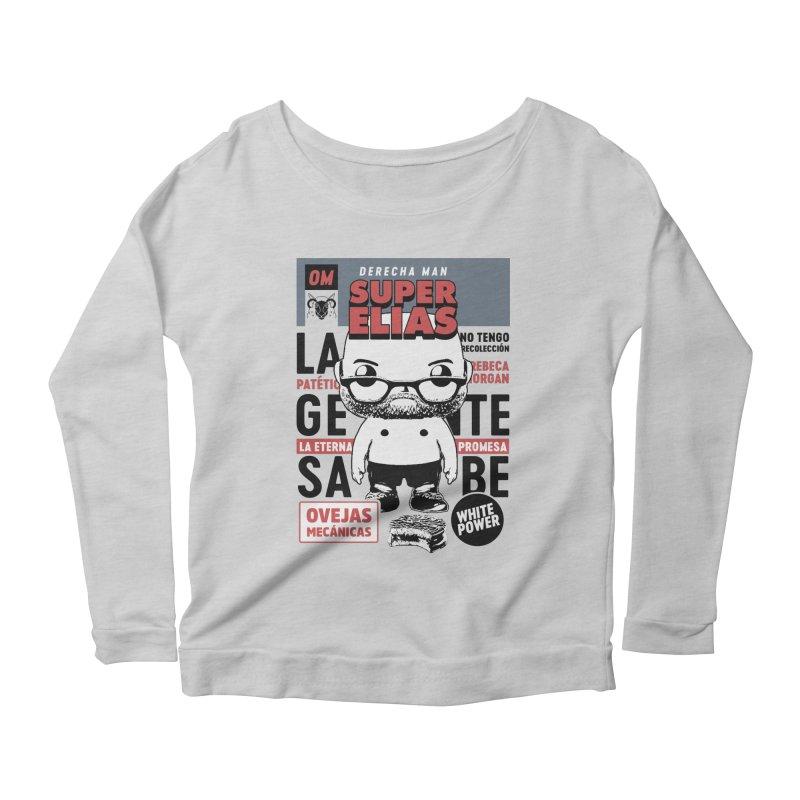 Elías Pop! Giacaman Women's Scoop Neck Longsleeve T-Shirt by El Esquiladero