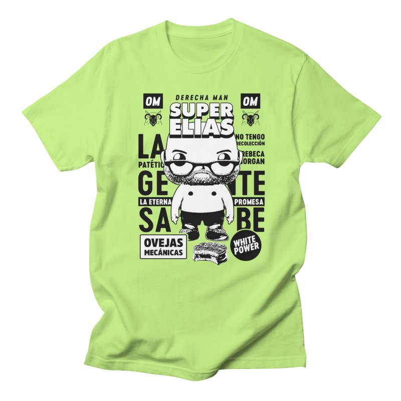 Elías Pop! Giacaman V2 Women's Regular Unisex T-Shirt by El Esquiladero