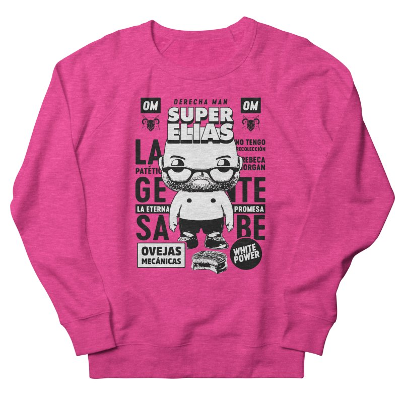Elías Pop! Giacaman V2 Men's French Terry Sweatshirt by El Esquiladero