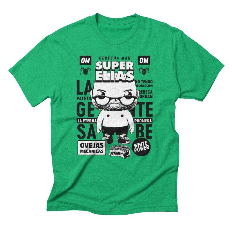 Elías Pop! Giacaman V2 Men's Triblend T-Shirt by El Esquiladero