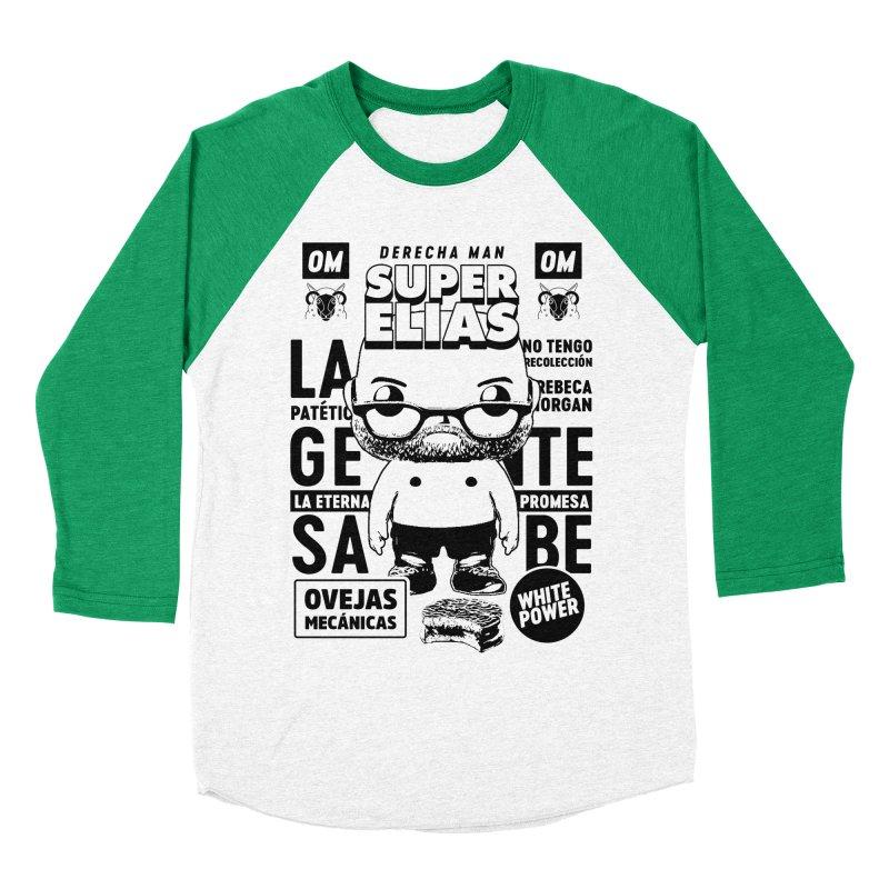 Elías Pop! Giacaman V2 Women's Baseball Triblend Longsleeve T-Shirt by El Esquiladero