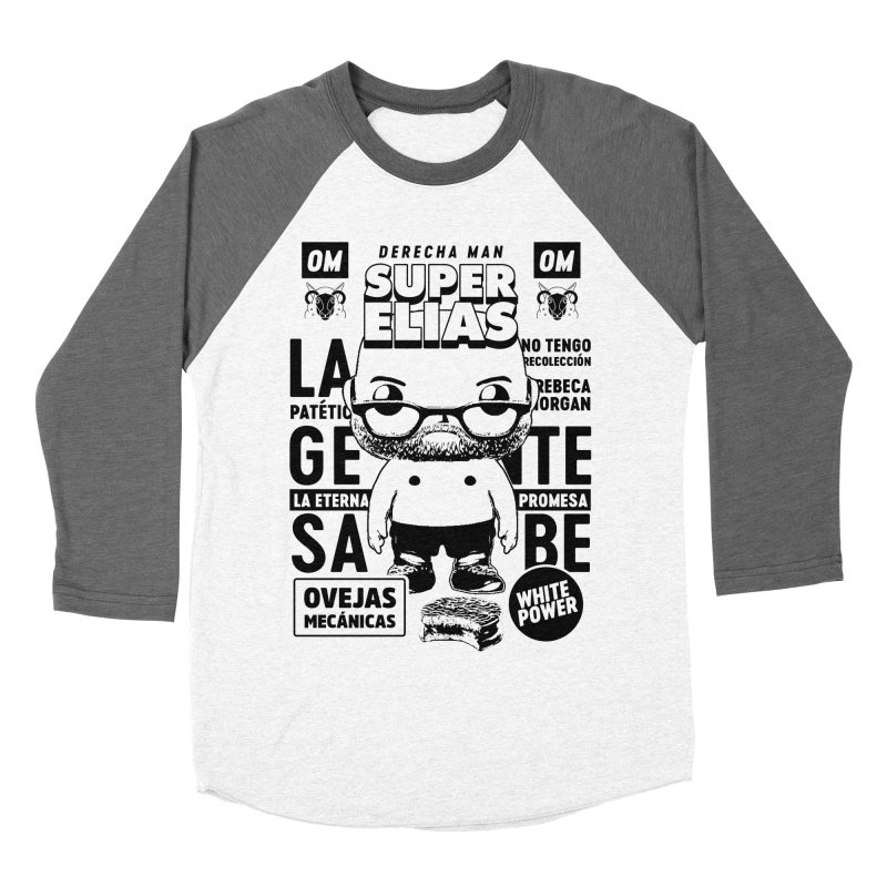 Elías Pop! Giacaman V2 Men's Baseball Triblend Longsleeve T-Shirt by El Esquiladero