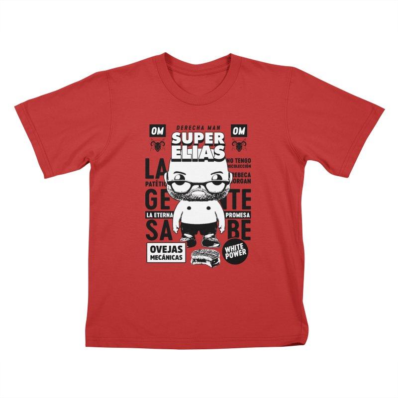 Elías Pop! Giacaman V2 Kids T-Shirt by El Esquiladero