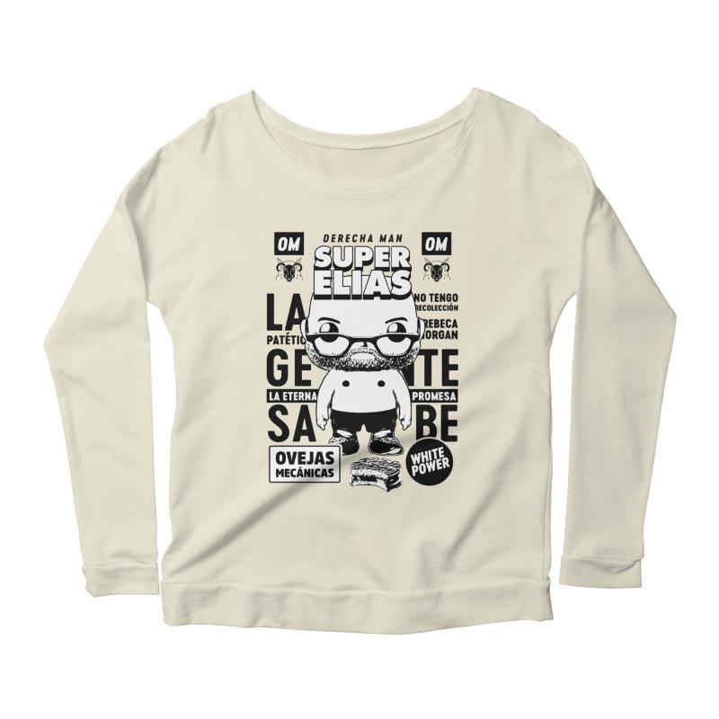 Elías Pop! Giacaman V2 Women's Scoop Neck Longsleeve T-Shirt by El Esquiladero
