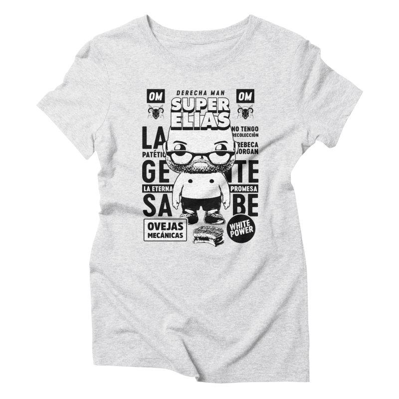 Elías Pop! Giacaman V2 Women's Triblend T-Shirt by El Esquiladero