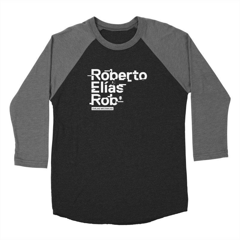 Roberto / Elías / Rob Women's Baseball Triblend Longsleeve T-Shirt by El Esquiladero