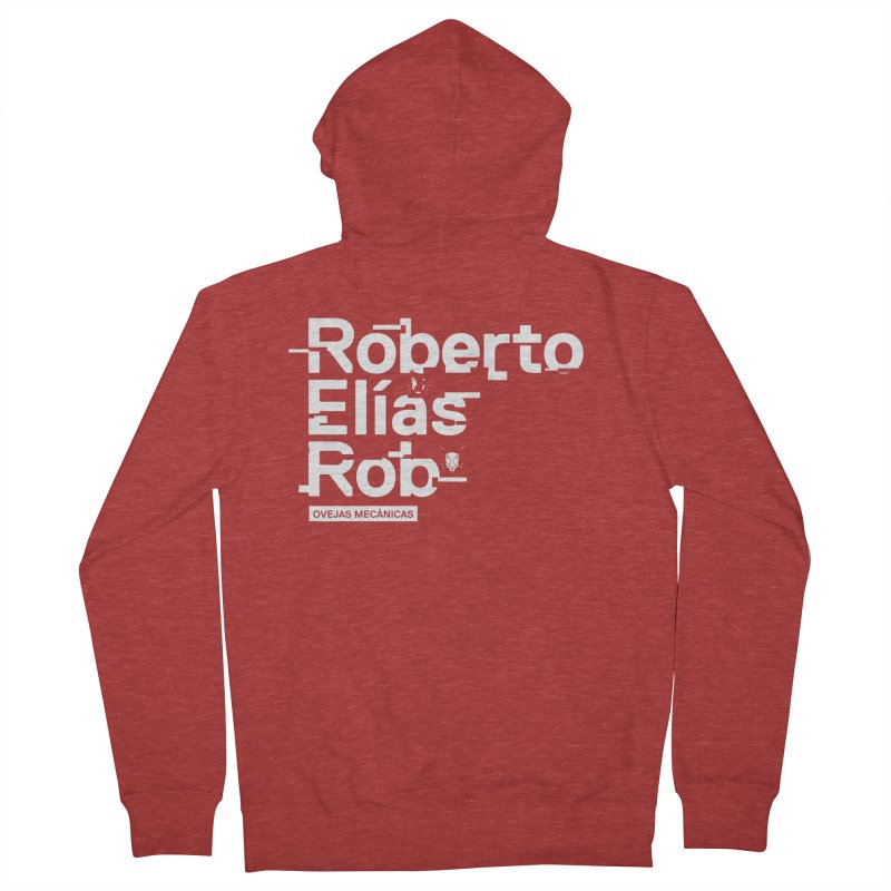 Roberto / Elías / Rob Women's French Terry Zip-Up Hoody by El Esquiladero