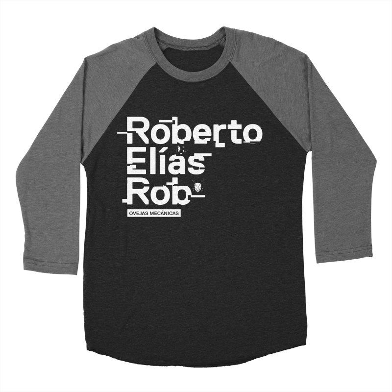 Roberto / Elías / Rob Men's Baseball Triblend Longsleeve T-Shirt by El Esquiladero