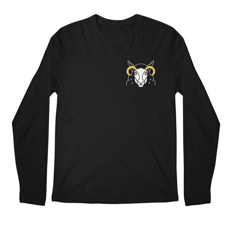 Oveja Blanca Men's Longsleeve T-Shirt by El Esquiladero
