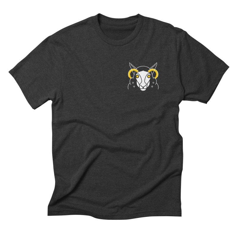 Oveja Blanca Men's Triblend T-Shirt by El Esquiladero