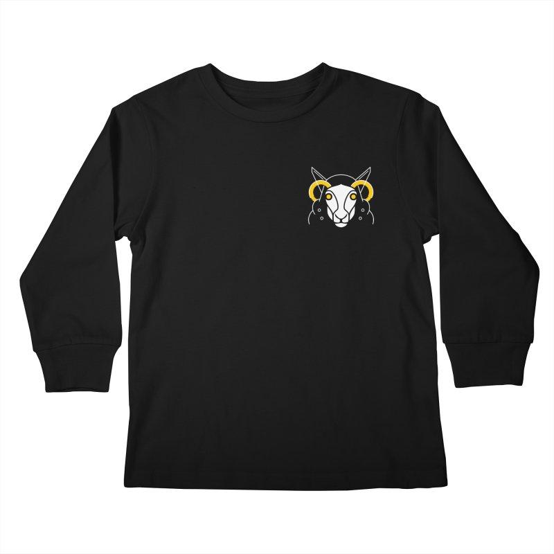 Oveja Blanca Kids Longsleeve T-Shirt by El Esquiladero