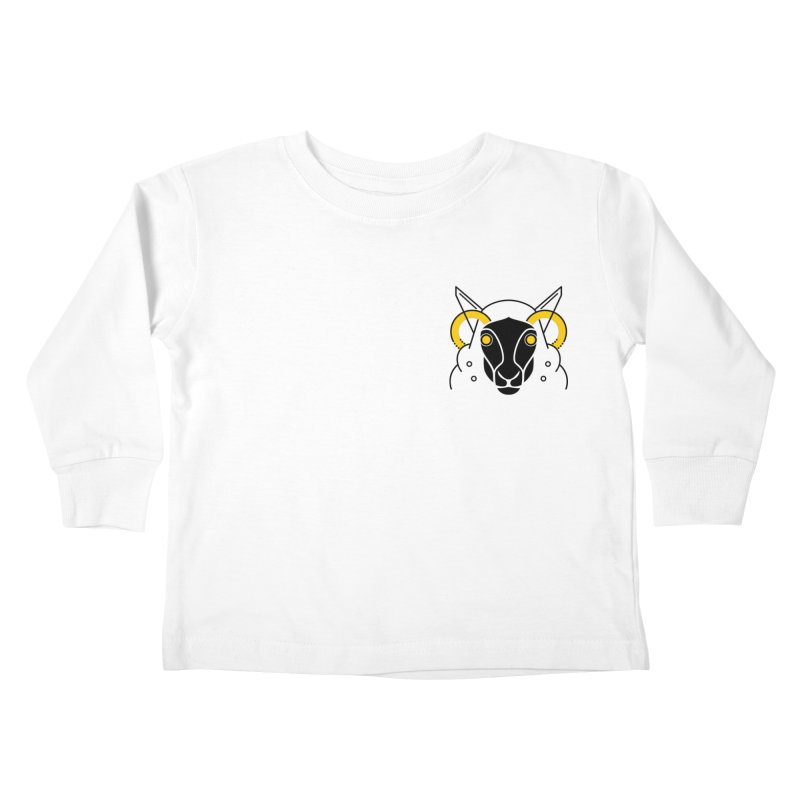 Oveja Negra Kids Toddler Longsleeve T-Shirt by El Esquiladero