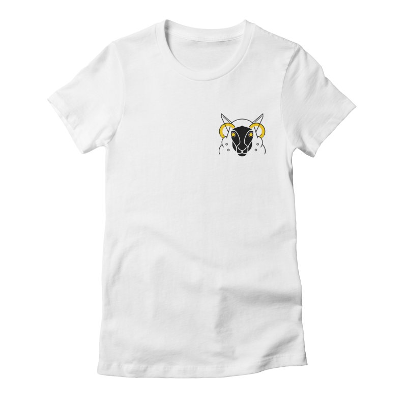 Oveja Negra Women's Fitted T-Shirt by El Esquiladero