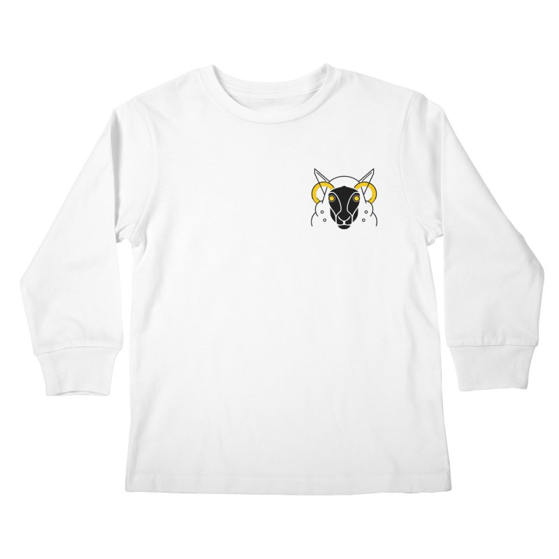 Oveja Negra Kids Longsleeve T-Shirt by El Esquiladero