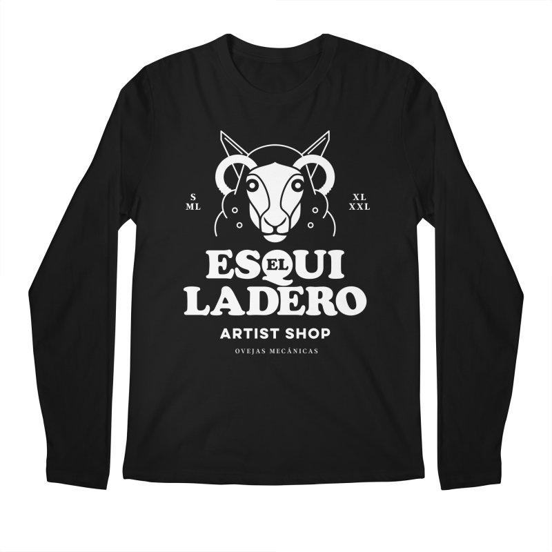 El Esquiladero (Blanco) Men's Regular Longsleeve T-Shirt by El Esquiladero