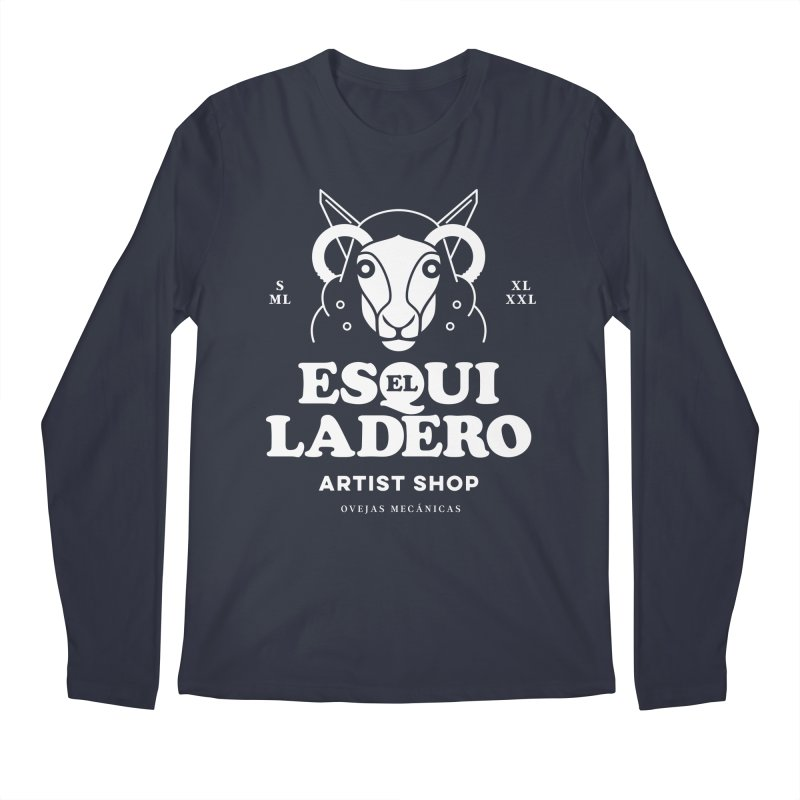 El Esquiladero (Blanco) Men's Regular Longsleeve T-Shirt by El Esquiladero