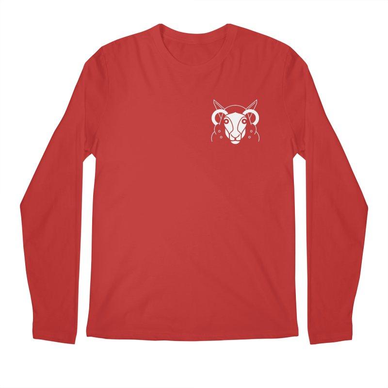 Oveja de bolsillo Men's Longsleeve T-Shirt by El Esquiladero