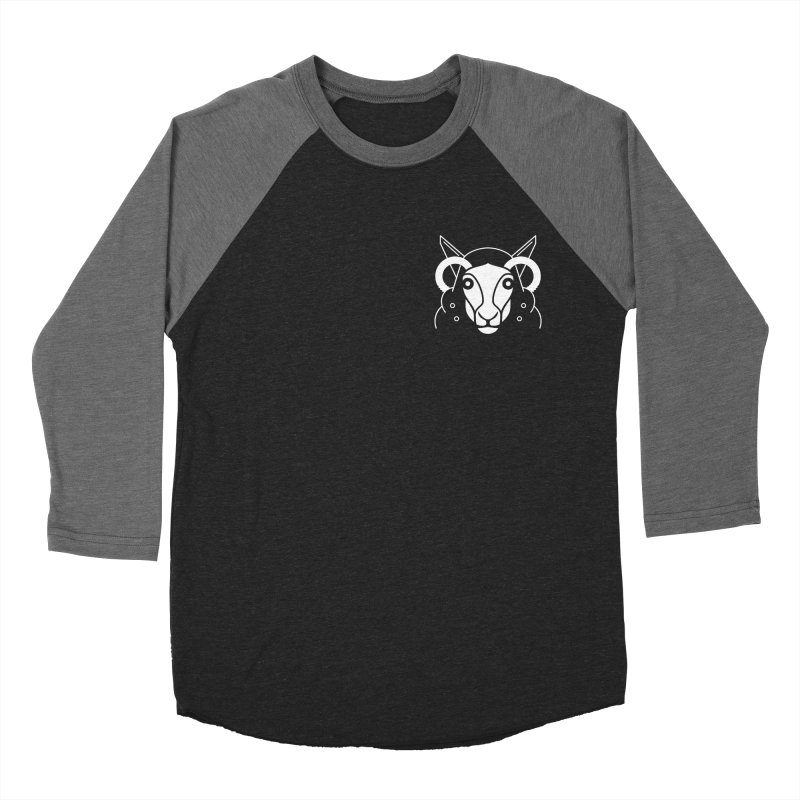 Oveja de bolsillo Men's Baseball Triblend Longsleeve T-Shirt by El Esquiladero