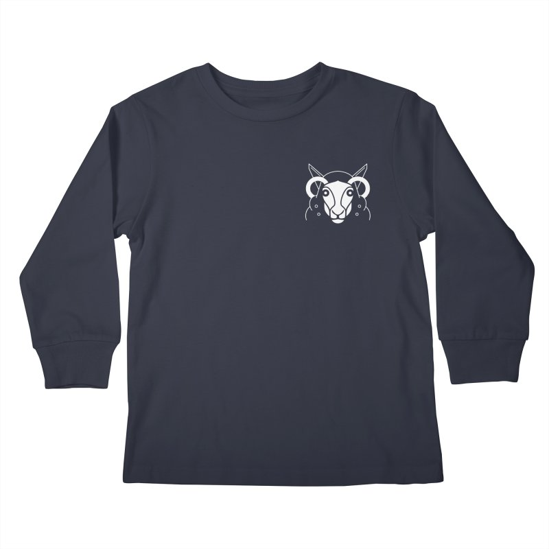 Oveja de bolsillo Kids Longsleeve T-Shirt by El Esquiladero