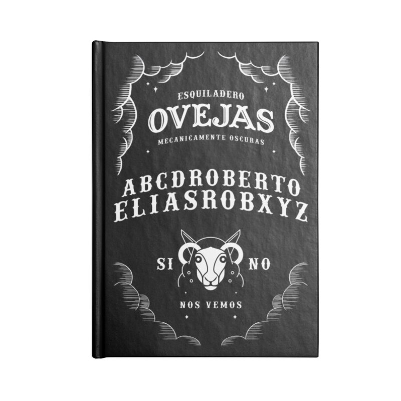 Ouija Mecanica Accessories Blank Journal Notebook by El Esquiladero
