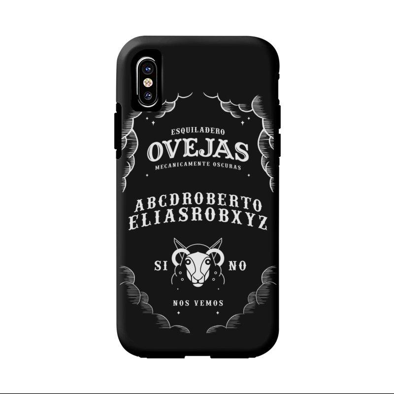 Ouija Mecanica Accessories Phone Case by El Esquiladero