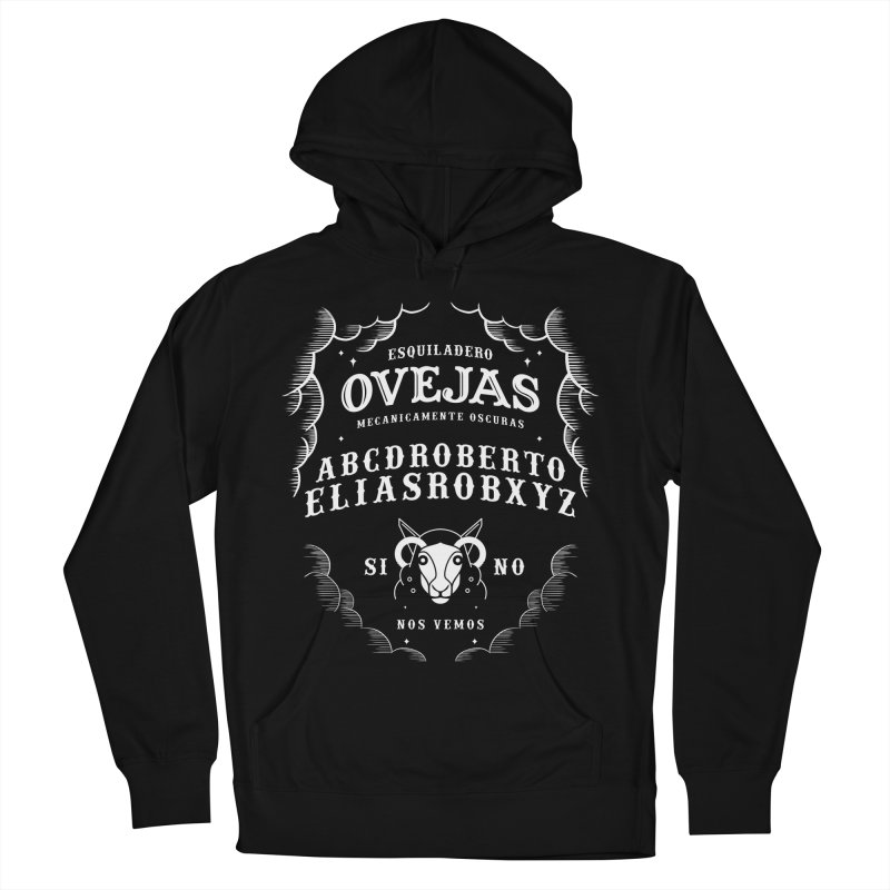 Ouija Mecanica Men's French Terry Pullover Hoody by El Esquiladero