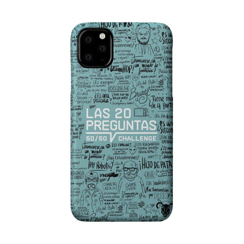 Las 20 preguntas - Frio Accessories Phone Case by El Esquiladero