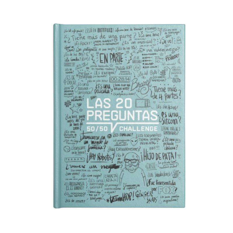 Las 20 preguntas - Frio Accessories Lined Journal Notebook by El Esquiladero