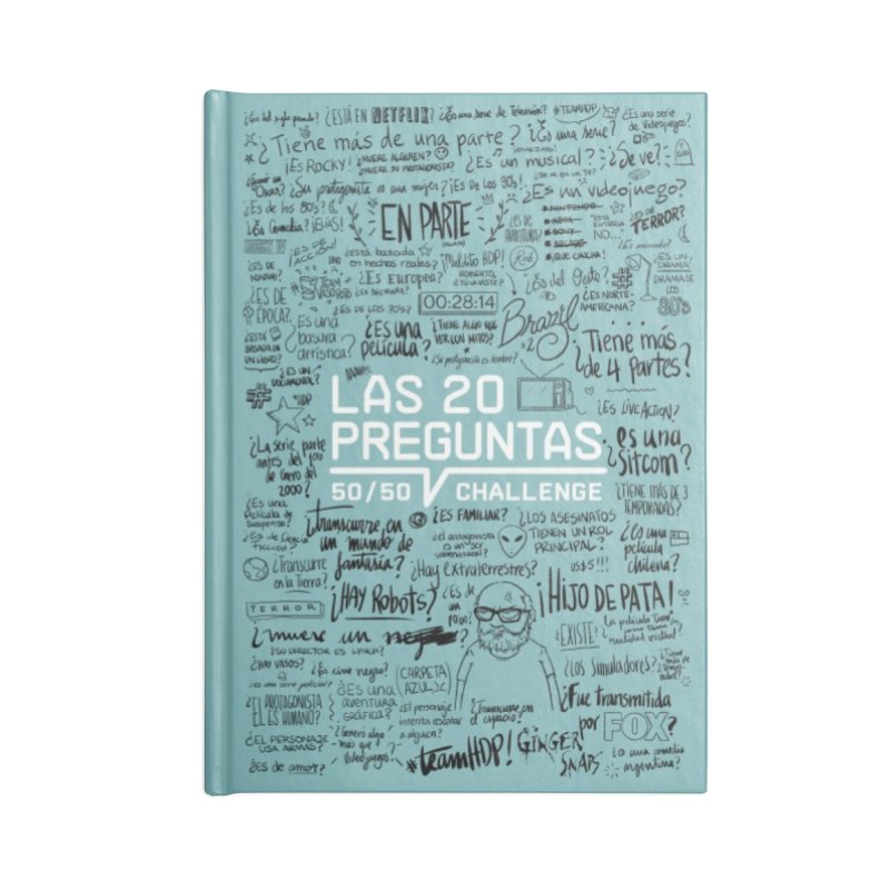 Las 20 preguntas - Frio Accessories Blank Journal Notebook by El Esquiladero
