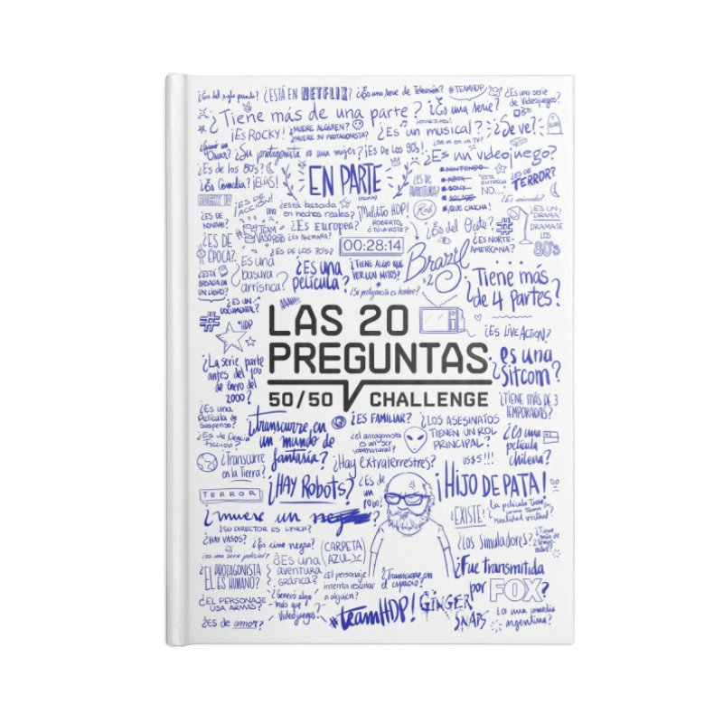 Las 20 preguntas - Bic Accessories Notebook by El Esquiladero