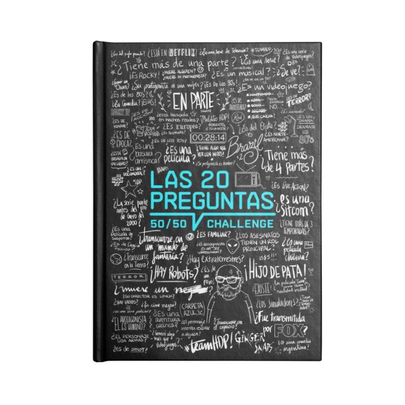 Las 20 Preguntas - Rebelde Accessories Notebook by El Esquiladero