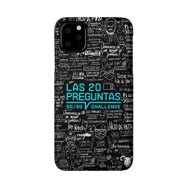 Las 20 Preguntas - Rebelde Accessories Phone Case by El Esquiladero