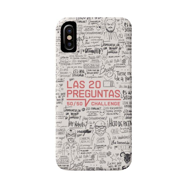 Las 20 Preguntas - Nona Accessories Phone Case by El Esquiladero