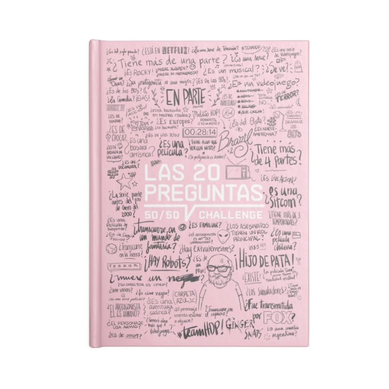 Las 20 Preguntas - Rosalina Accessories Blank Journal Notebook by El Esquiladero