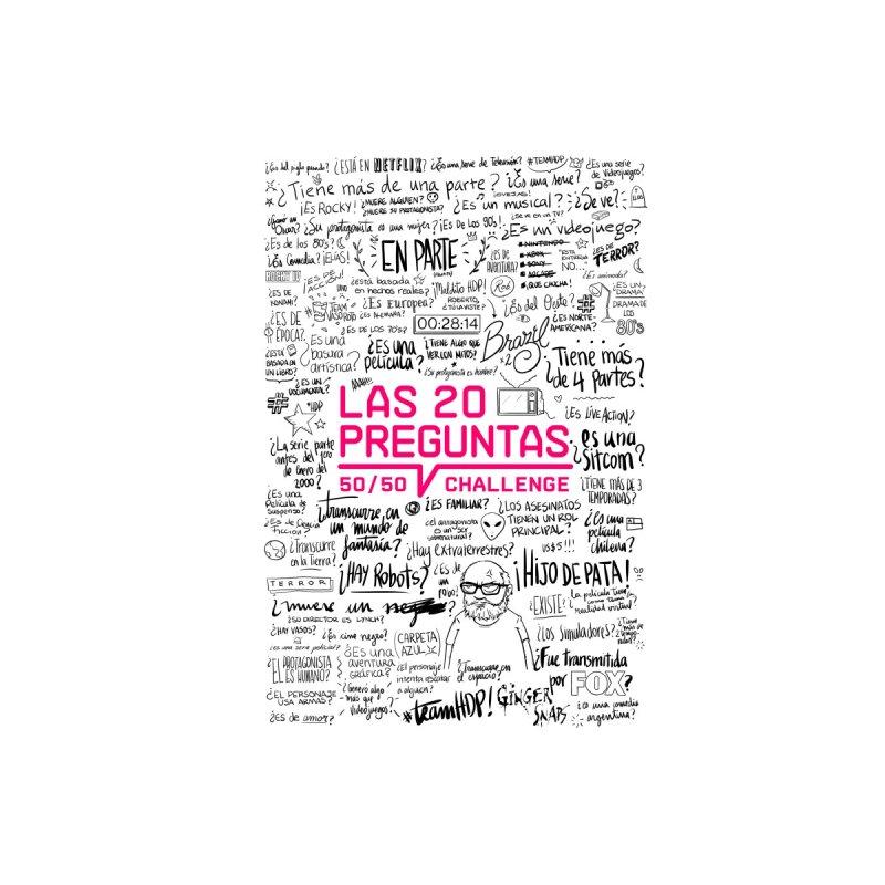 Las 20 Preguntas - Pink Accessories Notebook by El Esquiladero
