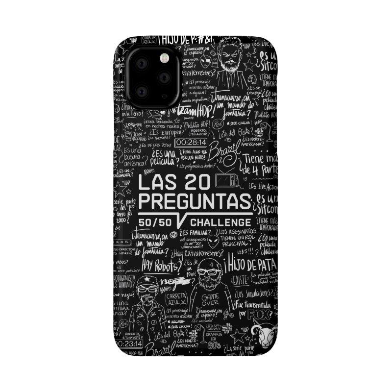 Las 20 Preguntas - Noche Accessories Phone Case by El Esquiladero