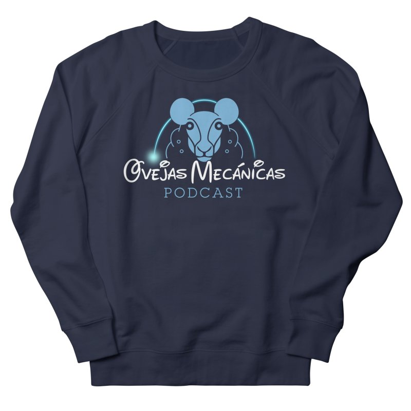 Oveja Disney Men's French Terry Sweatshirt by El Esquiladero