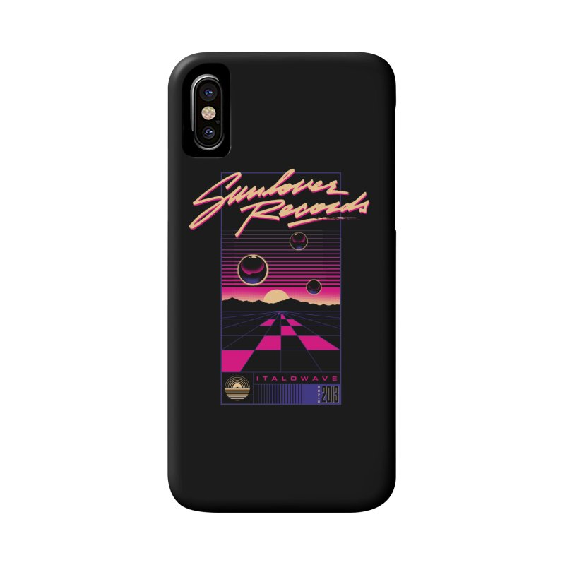 SLR - ITALOWAVE GRID Accessories Phone Case by OVERGLOW 80s shop