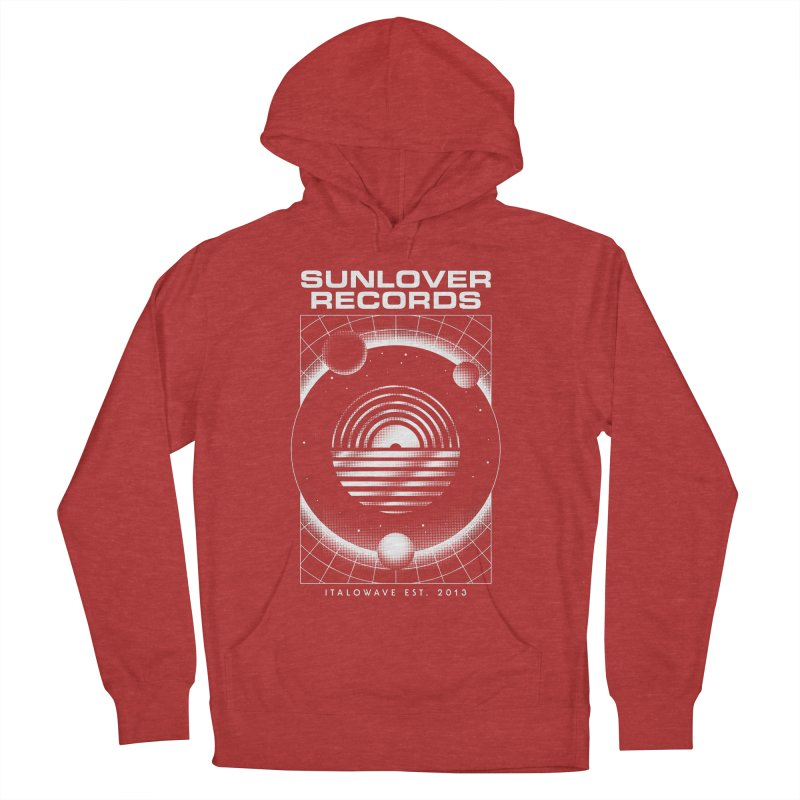 SLR - ITALOWAVE SPACE Men's French Terry Pullover Hoody by OVERGLOW 80s shop