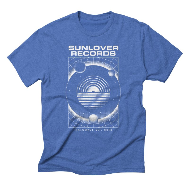 SLR - ITALOWAVE SPACE Men's Triblend T-Shirt by OVERGLOW 80s shop
