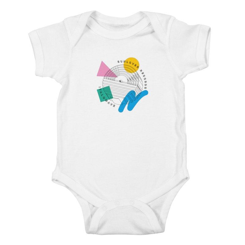 SLR - ITALOWAVE POP Kids Baby Bodysuit by OVERGLOW 80s shop