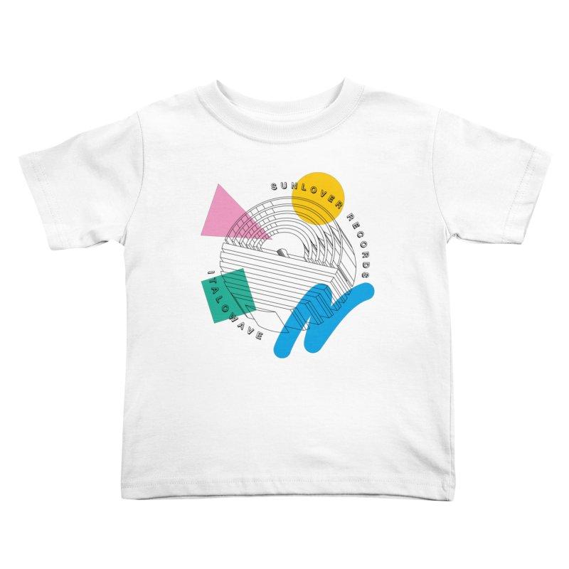 SLR - ITALOWAVE POP Kids Toddler T-Shirt by OVERGLOW 80s shop