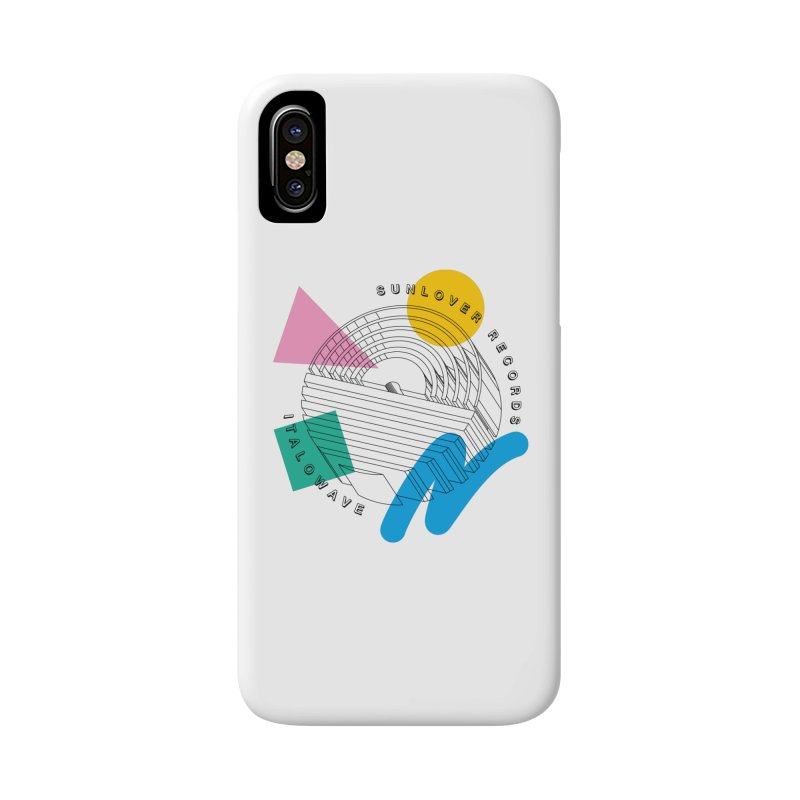 SLR - ITALOWAVE POP Accessories Phone Case by OVERGLOW 80s shop